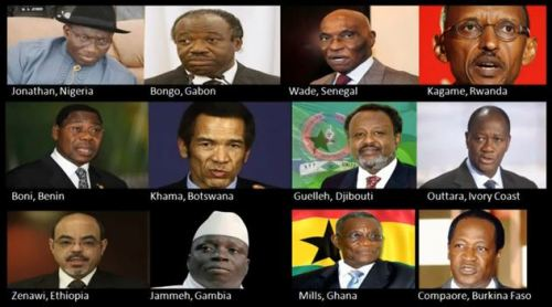 هؤلاء رؤساء افارقه تخلو عن القائد African_traitors