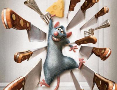 Un rat en difficulté