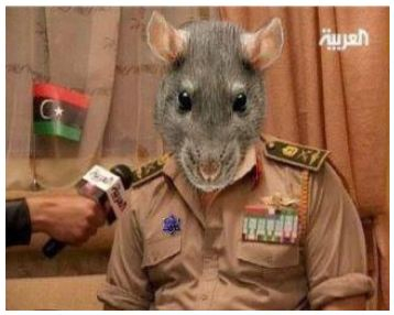 Image result for police rats serving bankers