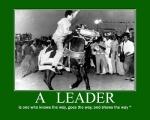 A leader hero