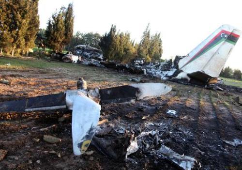 Crash Avion Militaire Libyen-2
