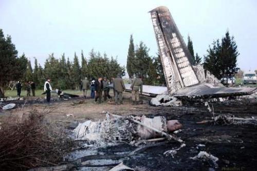Crash Avion Militaire Libyen