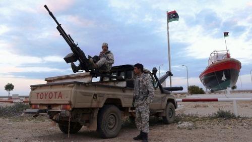 Libyan rebels (Reuters/Esam Omran Al-Fetori)