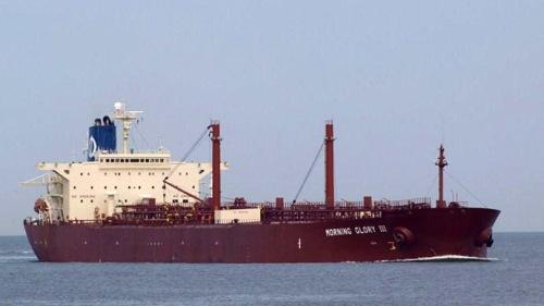The oil tanker Morning Glory