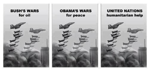 Bush-Obama-NATO-ONU-humanitarians-wars